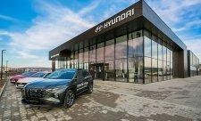 Největší autosalon Hyundai mají v Uherském Brodě
