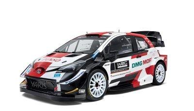 Toyota vyráží za obhajobou titulu ve WRC