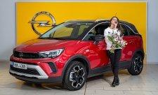 Burešová se stala tváří Opelu Crossland