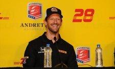 Grosjean potvrzen u týmu Andretti Autosport