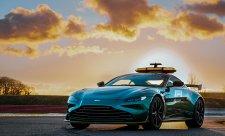 Aston Martin ukázal nový safety car