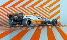 McLaren se oděje do barev Gulfu