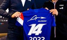 Alonso zůstává v týmu Alpine
