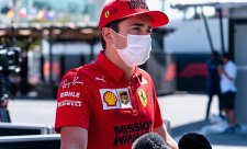 Leclerc přišel o motor