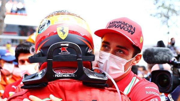 Leclerka podle Ferrari převodovka nezradila