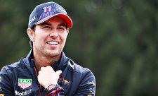 Pérez zůstává s Red Bullem