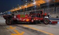 Rychlost Ferrari je skutečná
