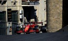 Ferrari není rychlé jako v Monaku