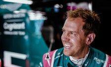 Vettelovi se konečně vydařil závod